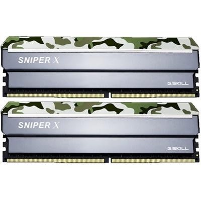 G.Skill 16GB(2x8) SniperX Orman Kamuflaj 3200mhz CL16 DDR4  Ram (F4-3200C16D-16GSXFB)