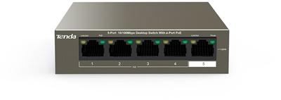 En ucuz Tenda TEF1105P-4-63W 5 Port 10/100  Switch Fiyatı