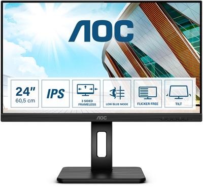 "Aoc 23.8"" 24P2Q 4ms 75hz HDMI,DisplayPort,VGA,DVI Monitör"