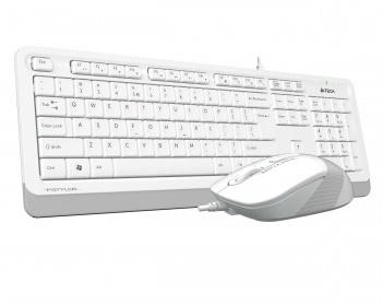 En ucuz A4 Tech F1010 Beyaz Türkçe Q  USB Klavye + Mouse Set Fiyatı