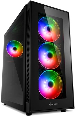 En ucuz Sharkoon TG5 PRO Tempered Glass RGB USB 3.0 ATX Mid Tower Kasa  Fiyatı