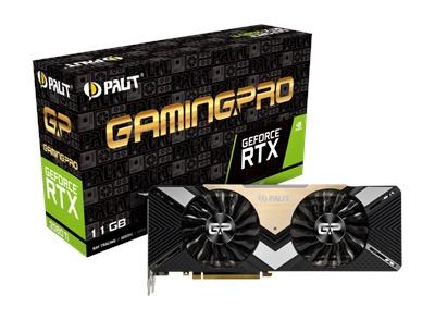 Palit GeForce RTX 2080 Ti GamingPro 11GB GDDR6 352 Bit Ekran Kartı