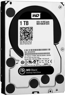 WD 1TB Black 64MB 7200rpm (WD1003FZEX) Harddisk