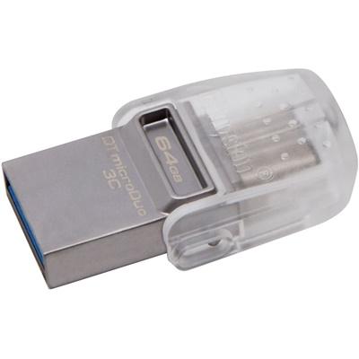 Kingston 64GB DT MicroDuo USB 3.1 DTDUO3C/64GB USB Bellek