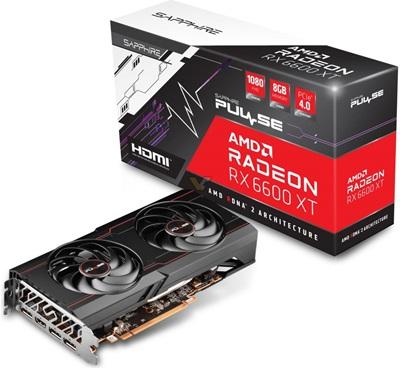 Sapphire Radeon RX 6600 XT Pulse 8GB GDDR6 128 Bit Ekran Kartı