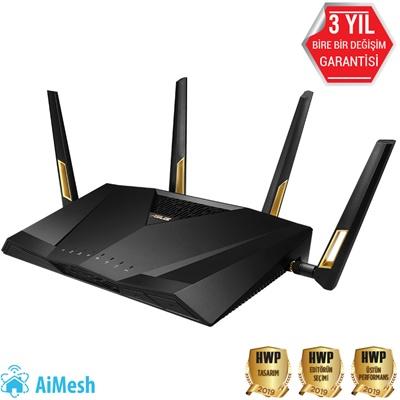 En ucuz Asus RT-AX88U 1148Mbps 8 Port 1.8 GHz İşlemci/1GB Ram Router  Fiyatı