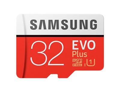 Samsung 32GB MicroSDHC Evo Plus 95MB/s U1 Class 10 Hafıza Kartı (MB-MC32GA/TR)