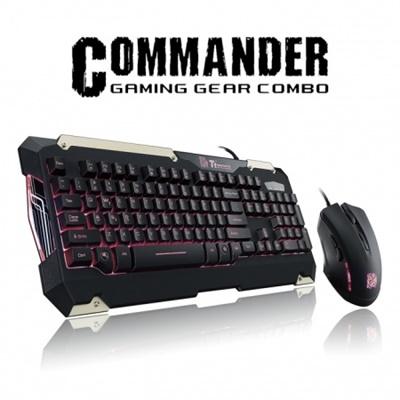 En ucuz Thermaltake Tt eSPORTS Commander Gaming Klavye + Mouse Set   Fiyatı