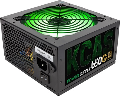 Aerocool 650W KCAS Serisi 80+ Gold  Güç Kaynağı