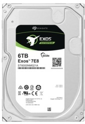 Seagate 6TB Exos 256MB 7200rpm (ST6000NM021A) Harddisk