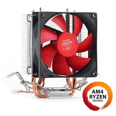 Dark Freezer X90 92 mm Kırmızı Fan Intel-AMD Uyumlu Hava Soğutucu