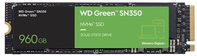 WD 960GB Green SN350 NVMe Okuma 2400MB-Yazma 1900MB M.2 SSD (WDS960G2G0C)