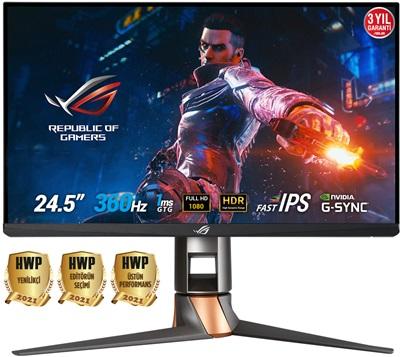 "Asus 24.5"" ROG Swift PG259QN 1ms 360hz HDMI,DisplayPort G-Sync Gaming Monitör"