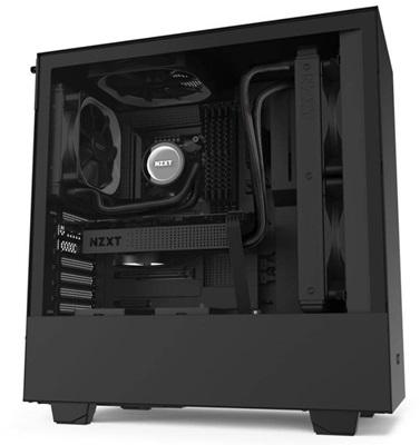 NZXT H510 Tempered Glass Siyah USB 3.1 ATX Mid Tower Kasa