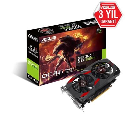 En ucuz Asus GeForce GTX1050Ti Cerberus OC 4GB GDDR5 128 Bit Ekran Kartı Fiyatı