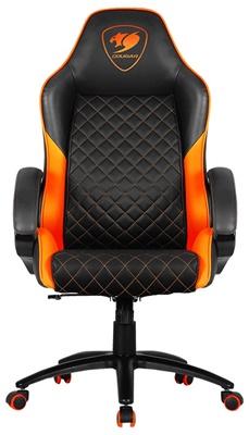 En ucuz Cougar Fusion Siyah/Turuncu Oyuncu Koltuğu   Fiyatı
