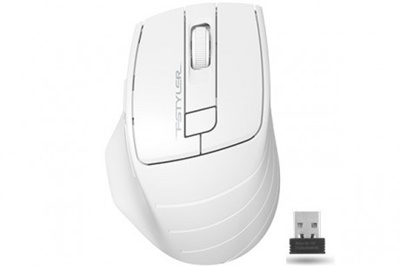 En ucuz A4 Tech FG30 Beyaz Kablosuz Mouse   Fiyatı