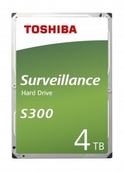 Toshiba 4TB S300 128MB 5400rpm (HDWT140UZSVA) Güvenlik Diski