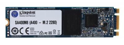 Kingston 240GB A400 Okuma 500MB-Yazma 350MB M.2 SSD (SA400M8/240G)