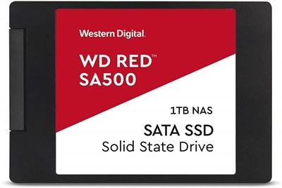 En ucuz WD 1TB SA500 Red Okuma 530MB-Yazma 560MB SATA SSD (WDS100T1R0A) Fiyatı