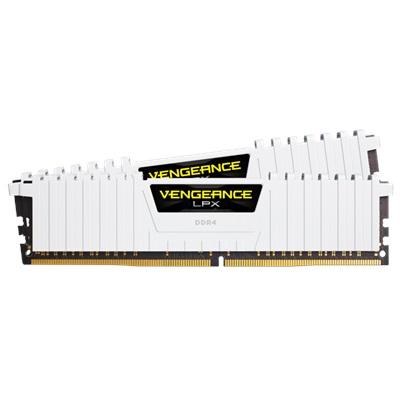 En ucuz Corsair 16GB(2x8) Vengeance LPX Beyaz 3000mhz CL15 DDR4  Ram (CMK16GX4M2B3000C15W) Fiyatı