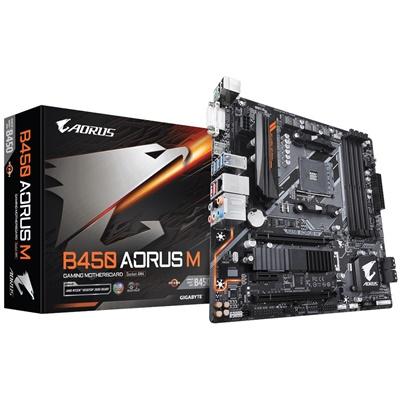 En ucuz Gigabyte Aorus B450 M 3200mhz(OC) RGB M.2 AM4 mATX Anakart Fiyatı