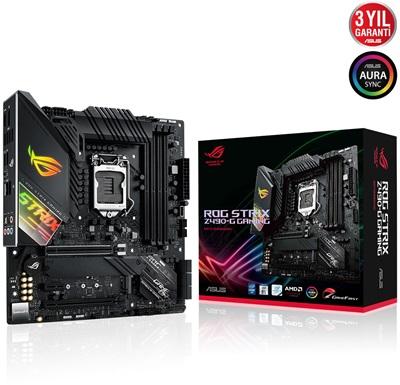 En ucuz Asus Rog Strix Z490-G Gaming 4600mhz(OC) RGB M.2 1200p mATX Anakart Fiyatı
