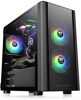 Thermaltake V150 Tempered Glass RGB USB 3.0 mATX Mini Tower Kasa