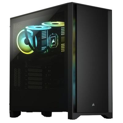 En ucuz Corsair 4000D Siyah Tempered Glass USB 3.0 ATX Mid Tower Kasa  Fiyatı