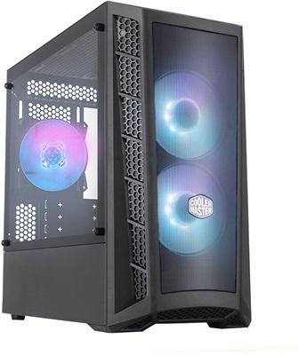 En ucuz CoolerMaster MasterBox MB311L 600W RGB Tempered Glass USB 3.2 mATX Mid Tower Kasa  Fiyatı