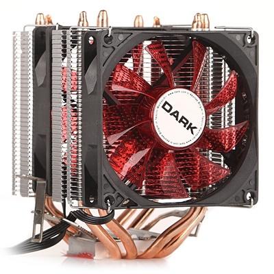 Dark Freezer X94RD 92 mm Kırmızı Led Fan Intel-AMD Uyumlu Hava Soğutucu