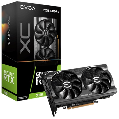EVGA GeForce RTX 3060 XC Gaming 12GB GDDR6 192 Bit Ekran Kartı