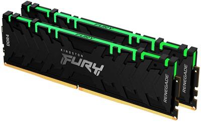 Kingston 16GB(2x8) Fury Renegade RGB 4600mhz CL19 DDR4  Ram (KF446C19RBAK2/16)