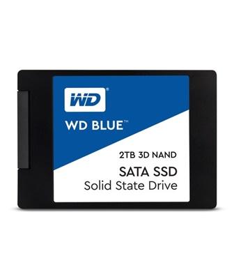 WD 2TB Blue 3D NAND Okuma 560MB-Yazma 530MB SATA SSD (WDS200T2B0A)