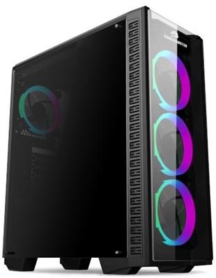 GameBooster GB-G3060B RGB Tempered Glass USB 3.0 ATX Mid Tower Kasa