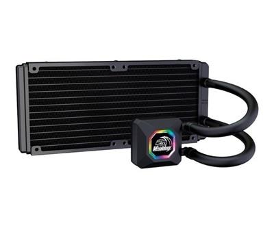 Akasa Venom R20 RGB 240 mm Intel-AMD Uyumlu Sıvı Soğutucu