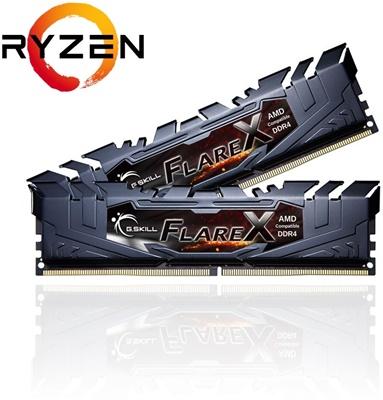 G.Skill 16GB(2x8) Flare X Gri 3200MHz CL16 DDR  Ram (F4-3200C16D-16GFX)