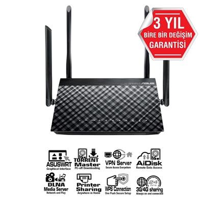 En ucuz Asus DSL-AC55U 433Mbps 4 Port VDSL/ADSL Modem Router  Fiyatı