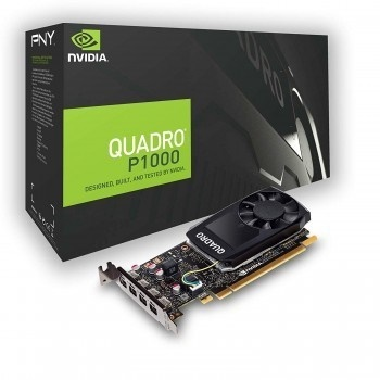 PNY Quadro P 1000 4GB GDDR5 128 Bit Ekran Kartı