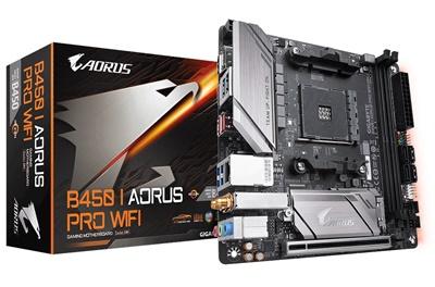 En ucuz Gigabyte Aorus B450I Pro 3200mhz(OC) RGB M.2 Wi-Fi AM4 Mini-ITX Anakart Fiyatı