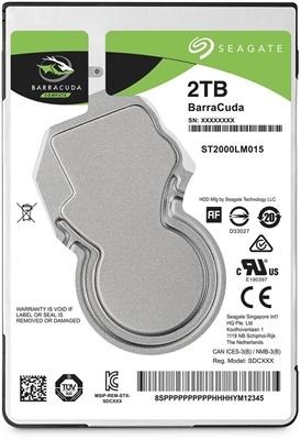Seagate 2TB Barracuda 128MB 5400rpm (ST2000LM015) Notebook Disk