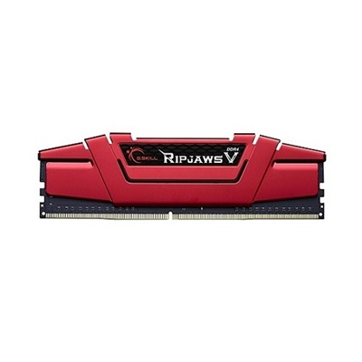 G.Skill 8GB RipjawsV Kırmızı 3000mhz CL15 DDR4  Ram (F4-3000C15S-8GVRB)