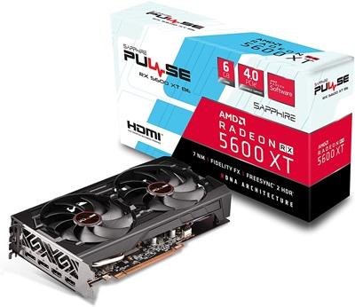 En ucuz Sapphire Radeon RX5600XT Pulse BE 6G 6GB GDDR6 192 Bit Ekran Kartı Fiyatı