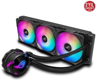 En ucuz Asus Rog Strix LC360 RGB 360mm Intel-AMD Uyumlu Sıvı Soğutucu  Fiyatı