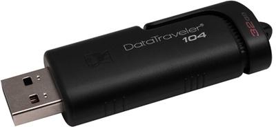 Kingston 32GB Data Traveler 104 USB 2.0 DT104/32GB USB Bellek
