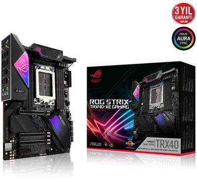 En ucuz Asus Rog Strix TRX40-XE Gaming 4666mhz(OC) RGB M.2 Wi-Fi sTRX4 ATX Anakart Fiyatı
