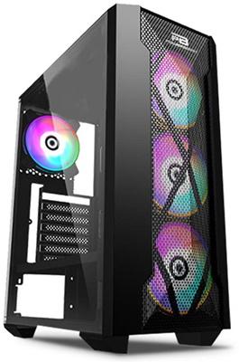 En ucuz PowerBoost VK-P1900B 500W USB 3.0 ATX Mid Tower Kasa  Fiyatı