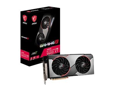 En ucuz MSI Radeon RX5600XT Gaming X 6GB GDDR6 192 Bit Ekran Kartı Fiyatı