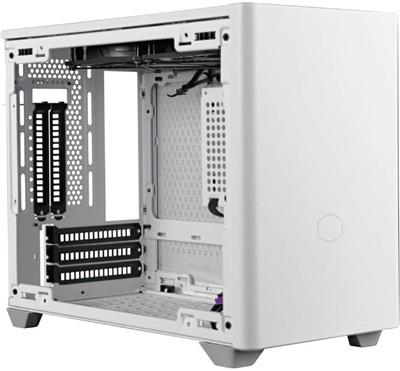 Cooler Master NR200P Tempered Glass Beyaz USB 3.2 Mini-ITX Kasa