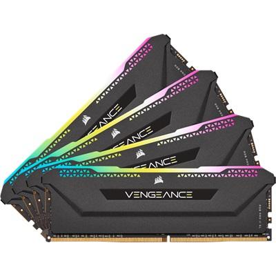 En ucuz Corsair 128GB(4x32) Vengeance RGB PRO SL 3200mhz CL16 DDR4  Ram (CMH128GX4M4E3200C16) Fiyatı